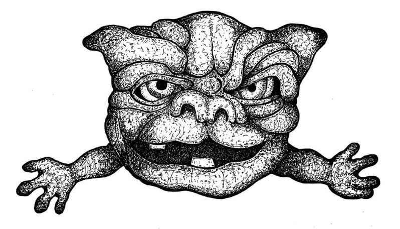 Hand-Drawn Boglin